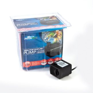 AQUAPRO AP200LV Low Voltage Tabletop Feature Pump - Box