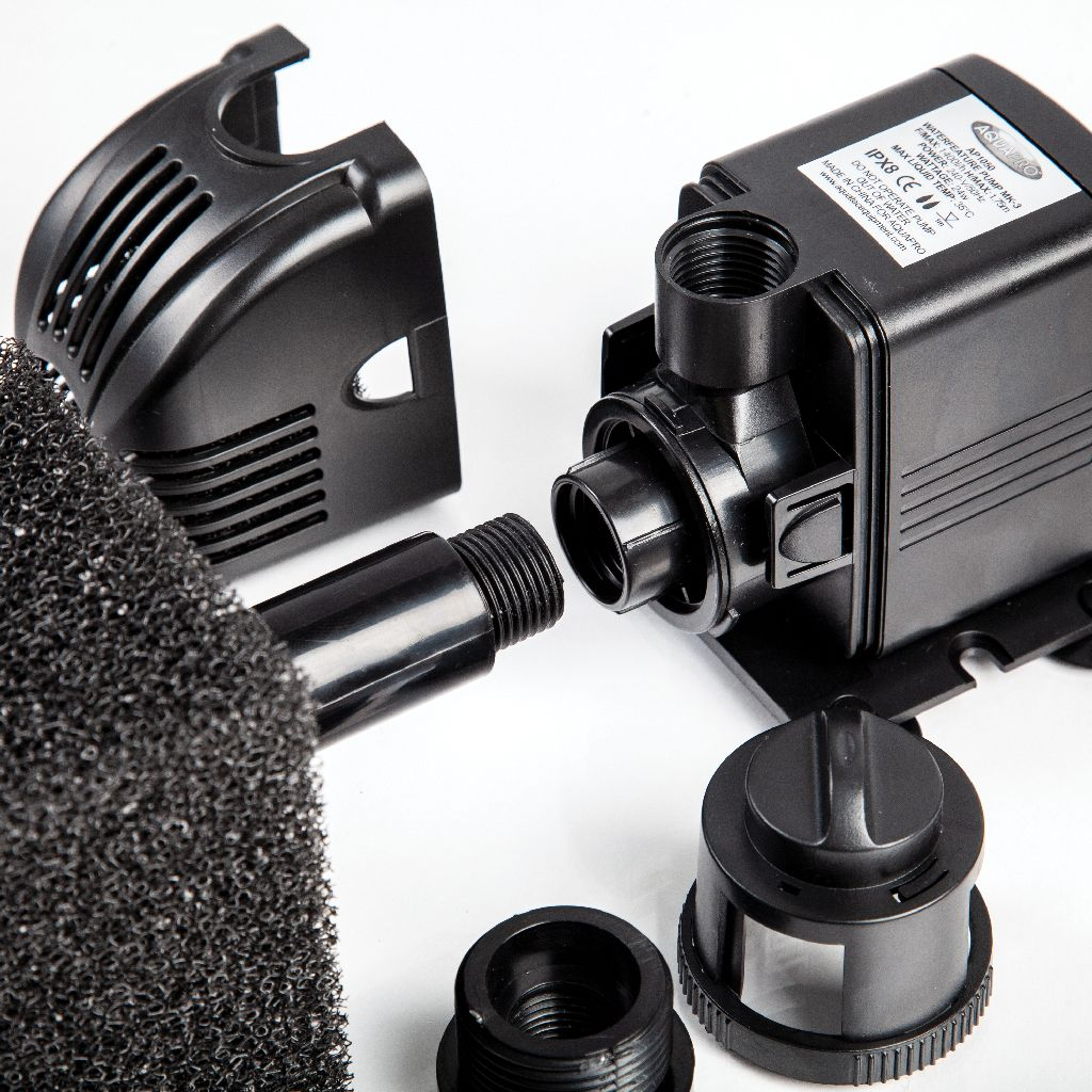 AQUAPRO AP1050 Water Feature Pump - Connection to Filter