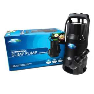 AQUAPRO AS10000DF Submersible Sump Pump - Box