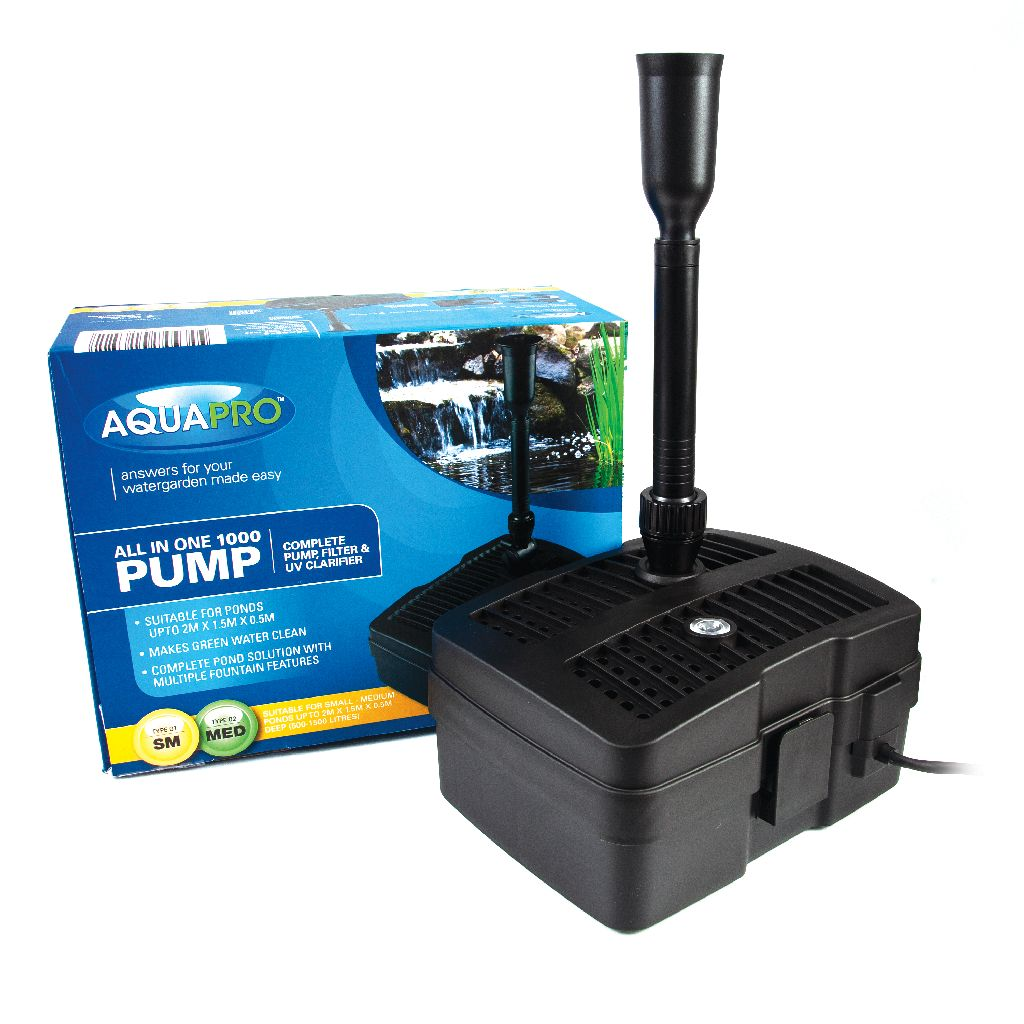 AQUAPRO 1000 All-in-one Pump and Filter - Box